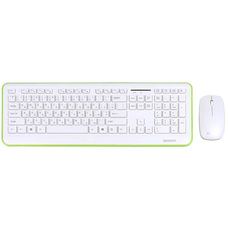 GREENWAVE Nano 817 Set, white&green