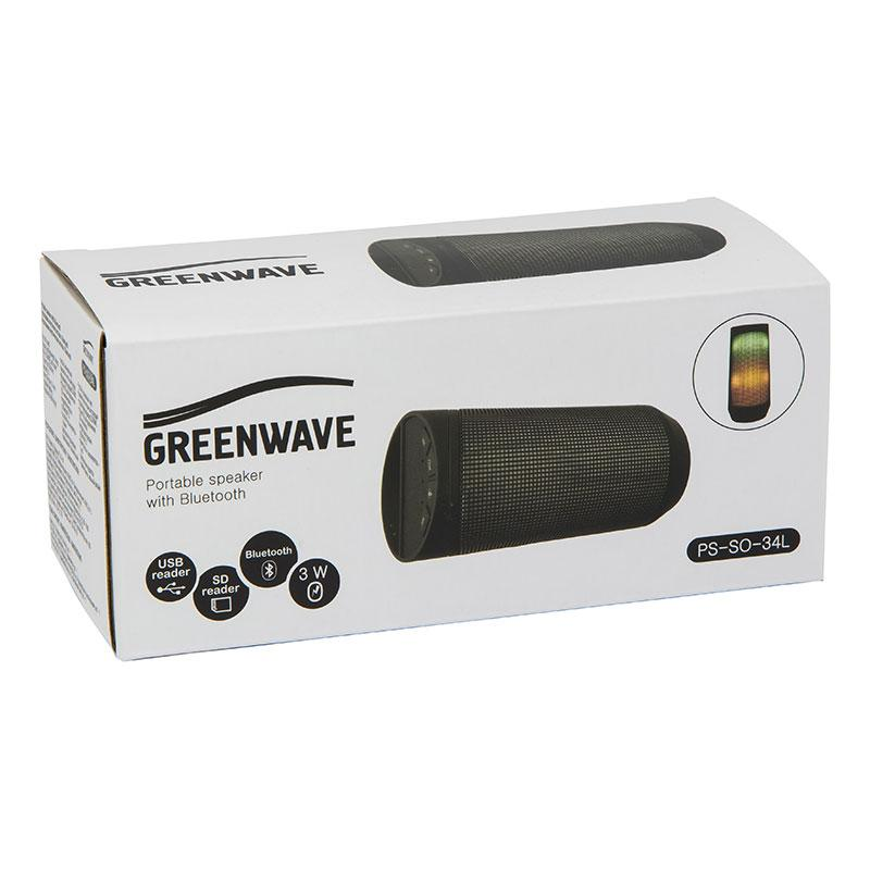GREENWAVE PS-SO-34L, сірий
